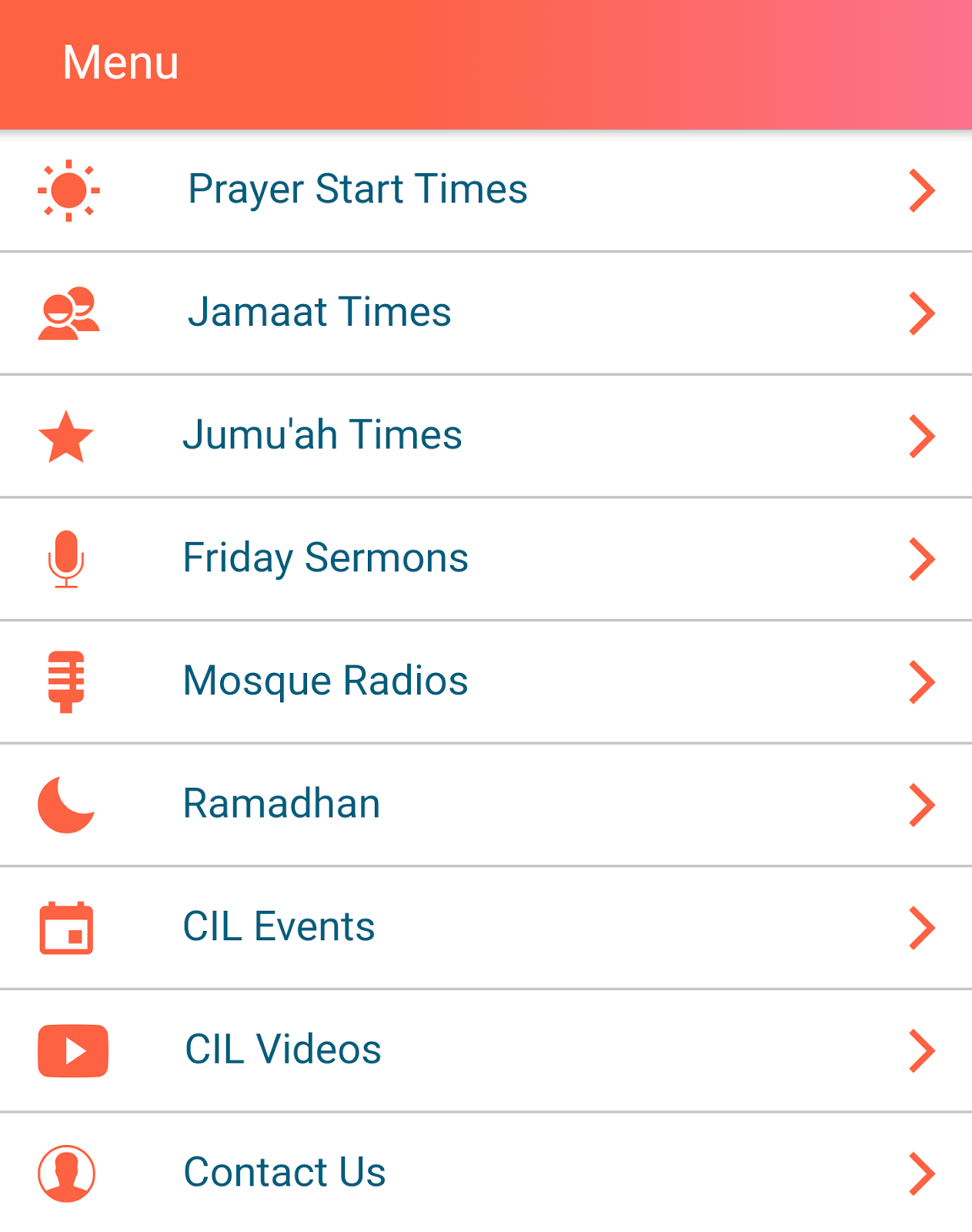 Download the Official Mosque App
